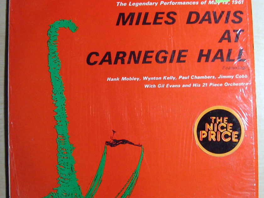 Miles Davis With Gil Evans - Miles Davis At Carnegie Hall Reissue, Remastered Columbia ‎– PC 8612