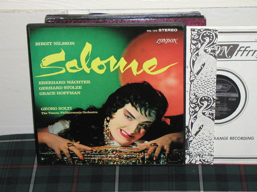 Solti/VPO - Salome London ffrr uk decca osa1218