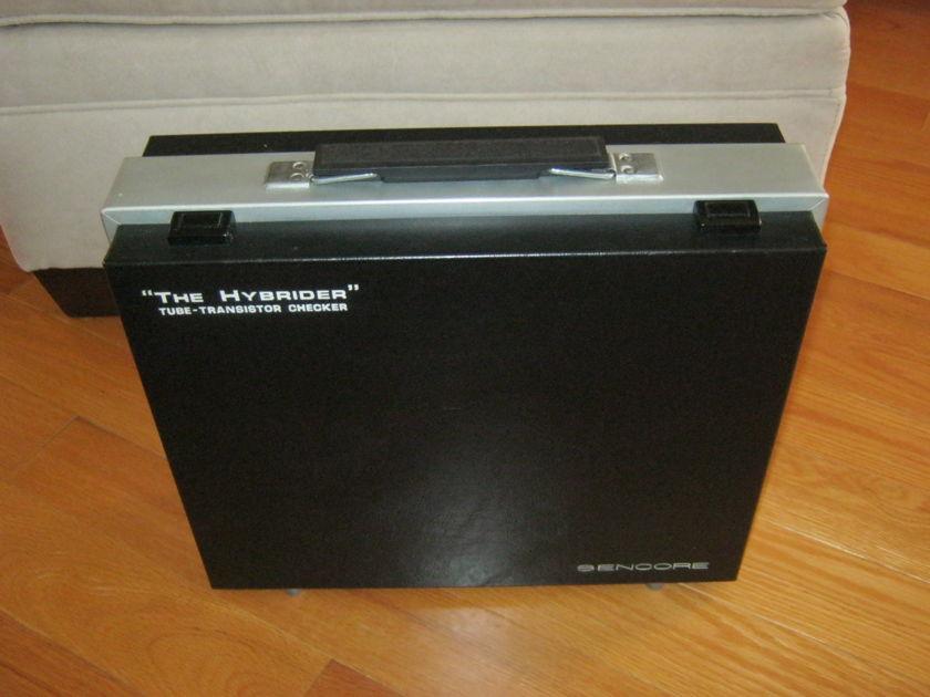 "Sencore TC 28 ""Hybrider"" Tube & Transister Tester"