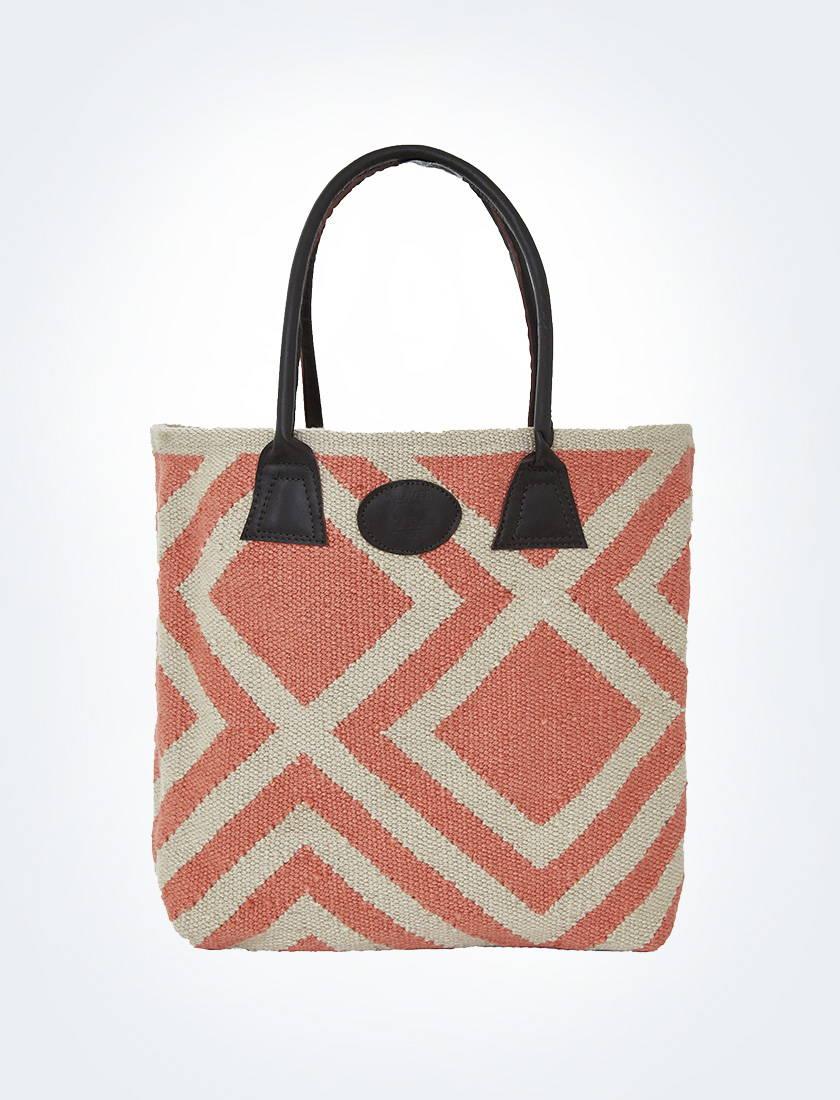 Coral Iris Bag