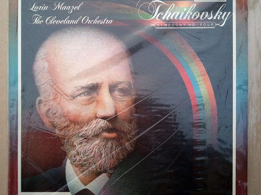 Sealed Audiophile TELARC | MAAZEL/TCHAIKOVSKY - Symphony No. 4