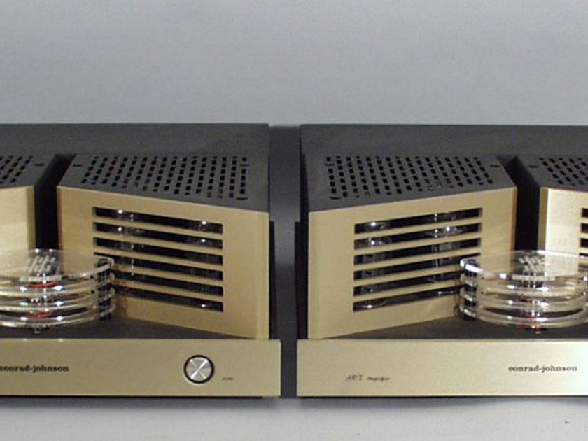 Conrad Johnson ART Amplifiers with Spare Tube Sets