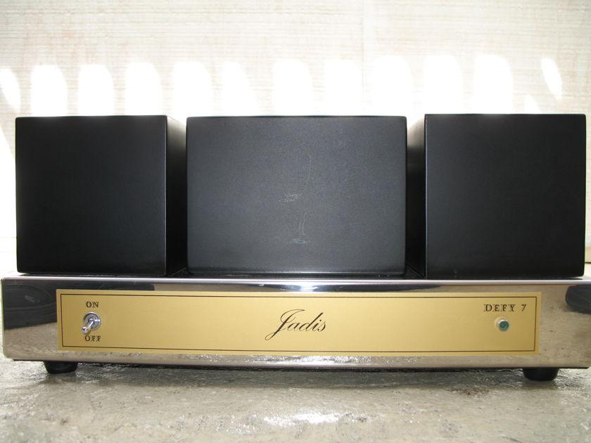 Jadis Defy 7 MK IV 6550 output tubes with Da Huong upgrades