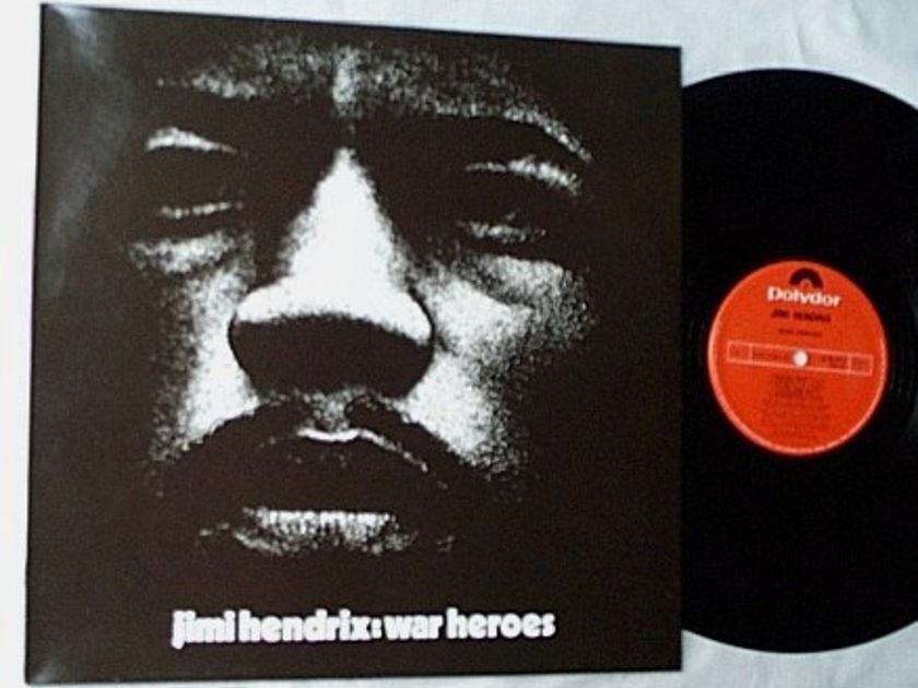 Jimi Hendrix LP-War heroes-rare - orig 1972 Polydor ENGLAND  album