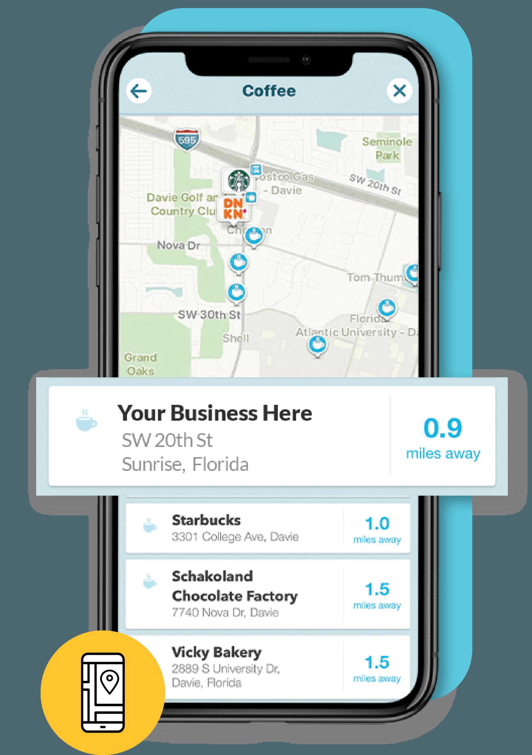 Waze business listing