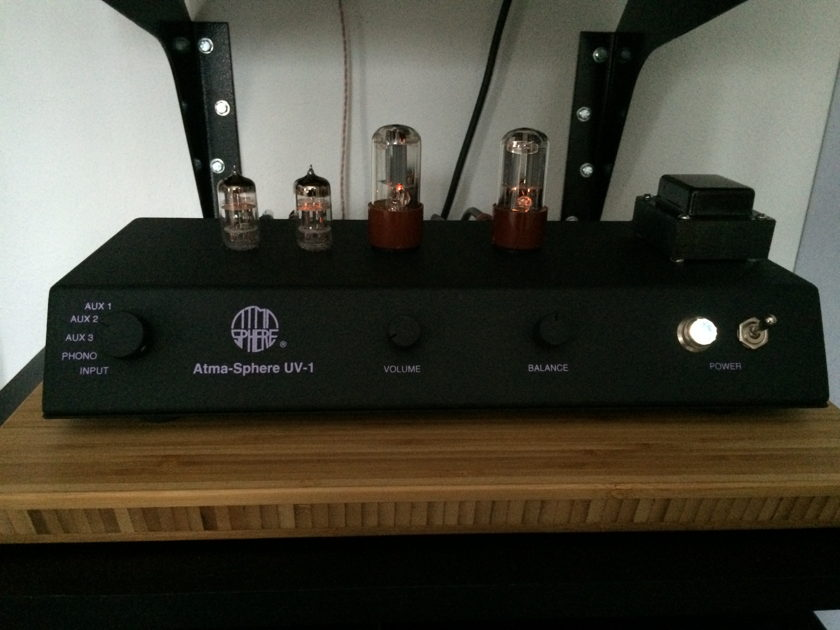 Atma-Sphere UV-1 Preamp with MM phono stage