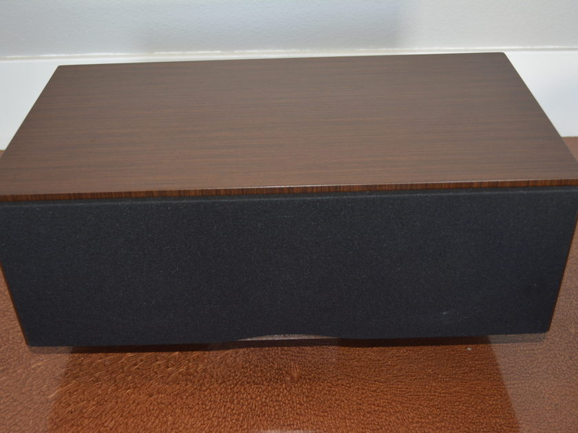 B&W  CM Centre - Wenge Finish - (Bowers & Wilkins) Excellent (see pics)