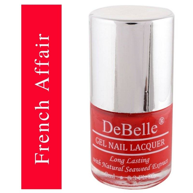 DeBelle Red Nail polish
