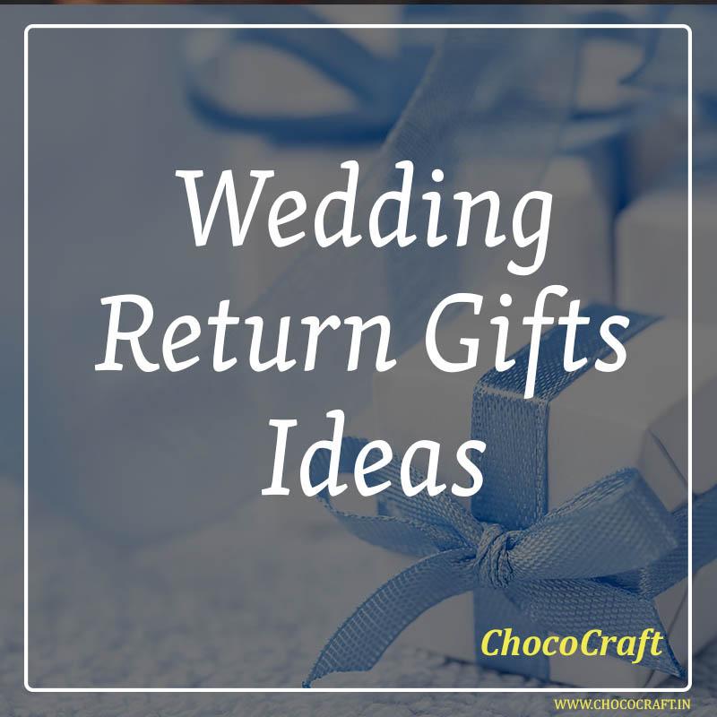 Wedding Return Gifts Ideas