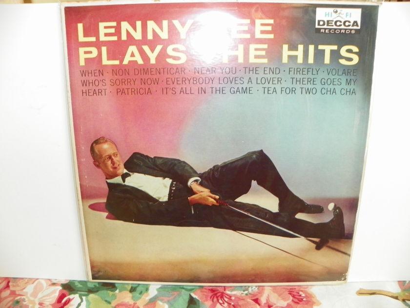 LENNY GREEN - PLAYS THE HITS Rare Mono