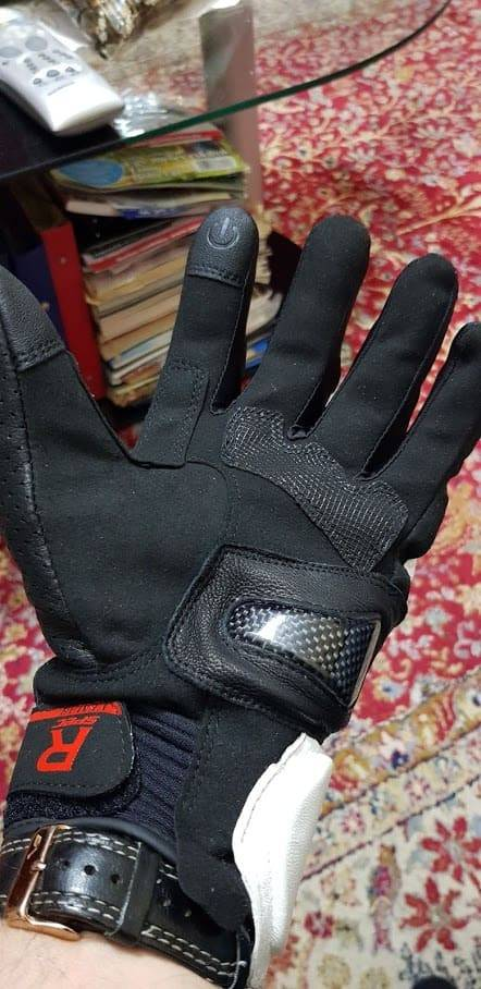 gants trottinette titanium leger