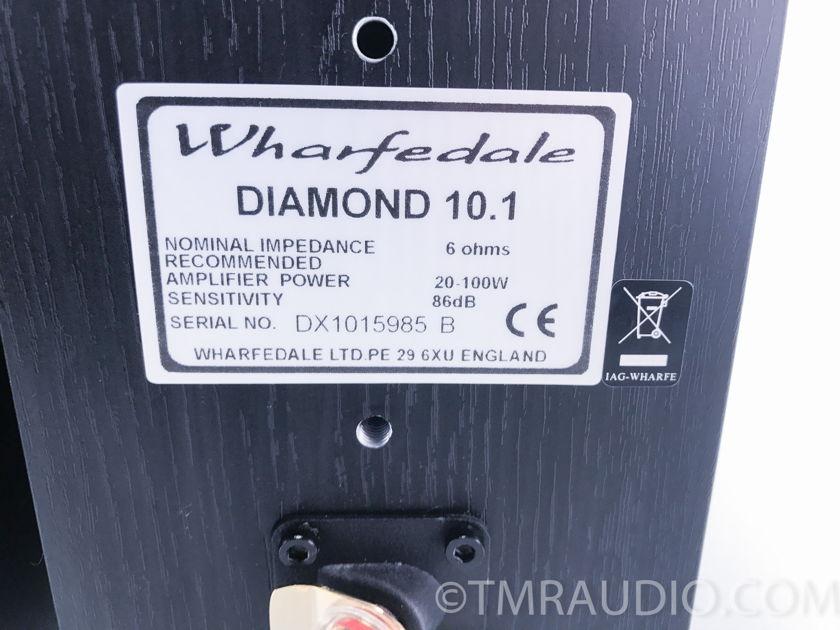 Wharfedale  Diamond 10.1 Bookshelf Speakers; Black Pair (3040)