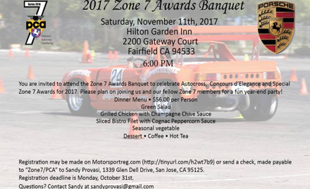 Zone 7 Awards Banquet