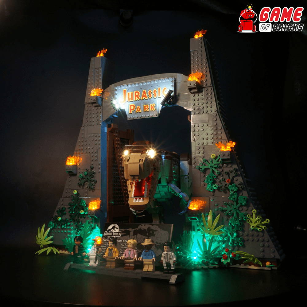 lego led light for t rex