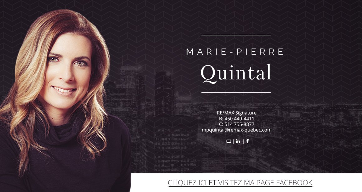 Marie-Pierre Quintal - Courtier immobilier REMAX Signature