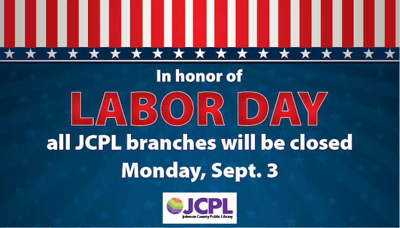 JCPL closed on Monday, Sept 3