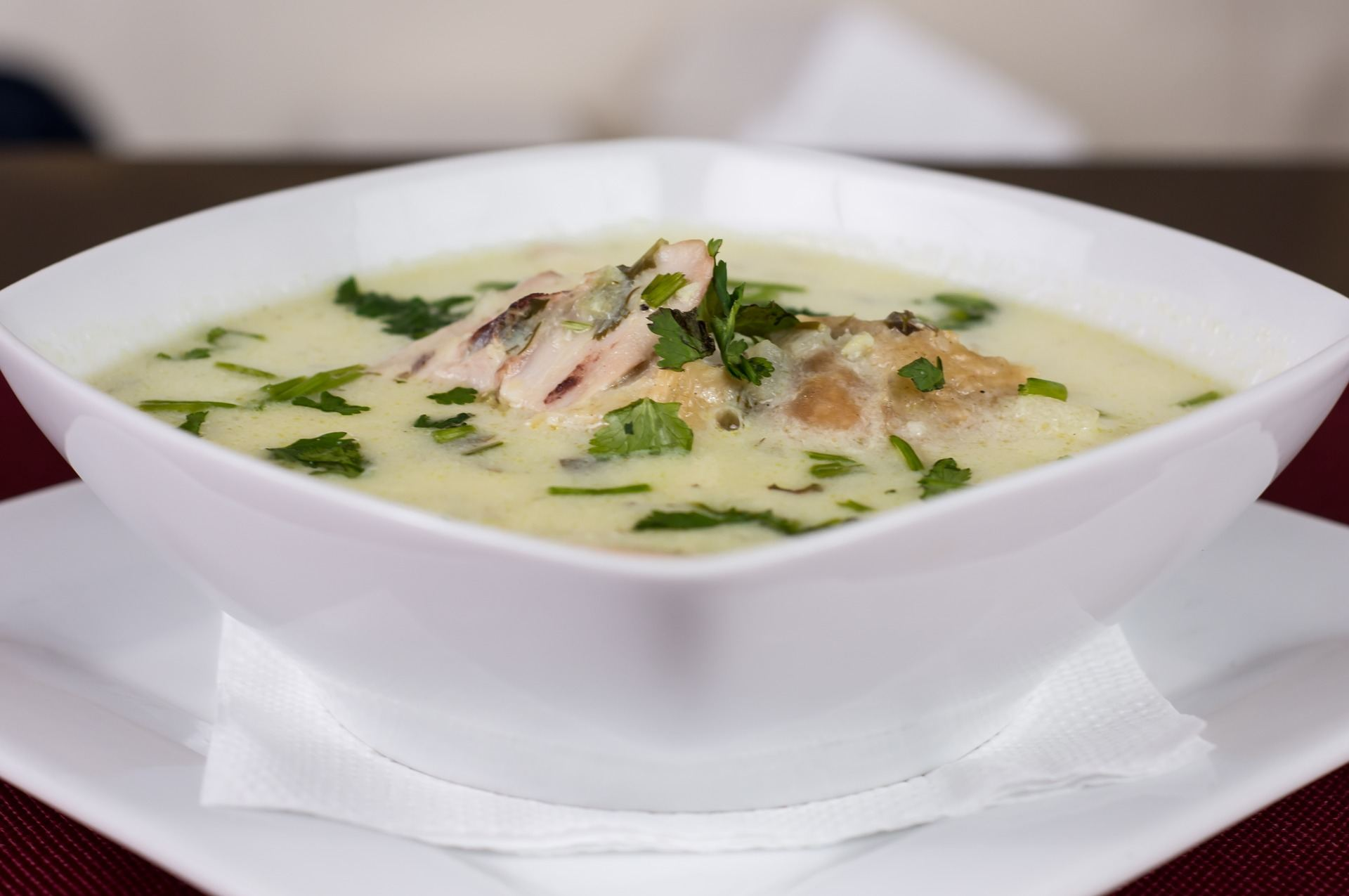 Roast Chicken Soup, Veg Box Leftovers