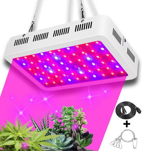LED grow lights, Full Spectrum Plant Light,  1000W Growing Light