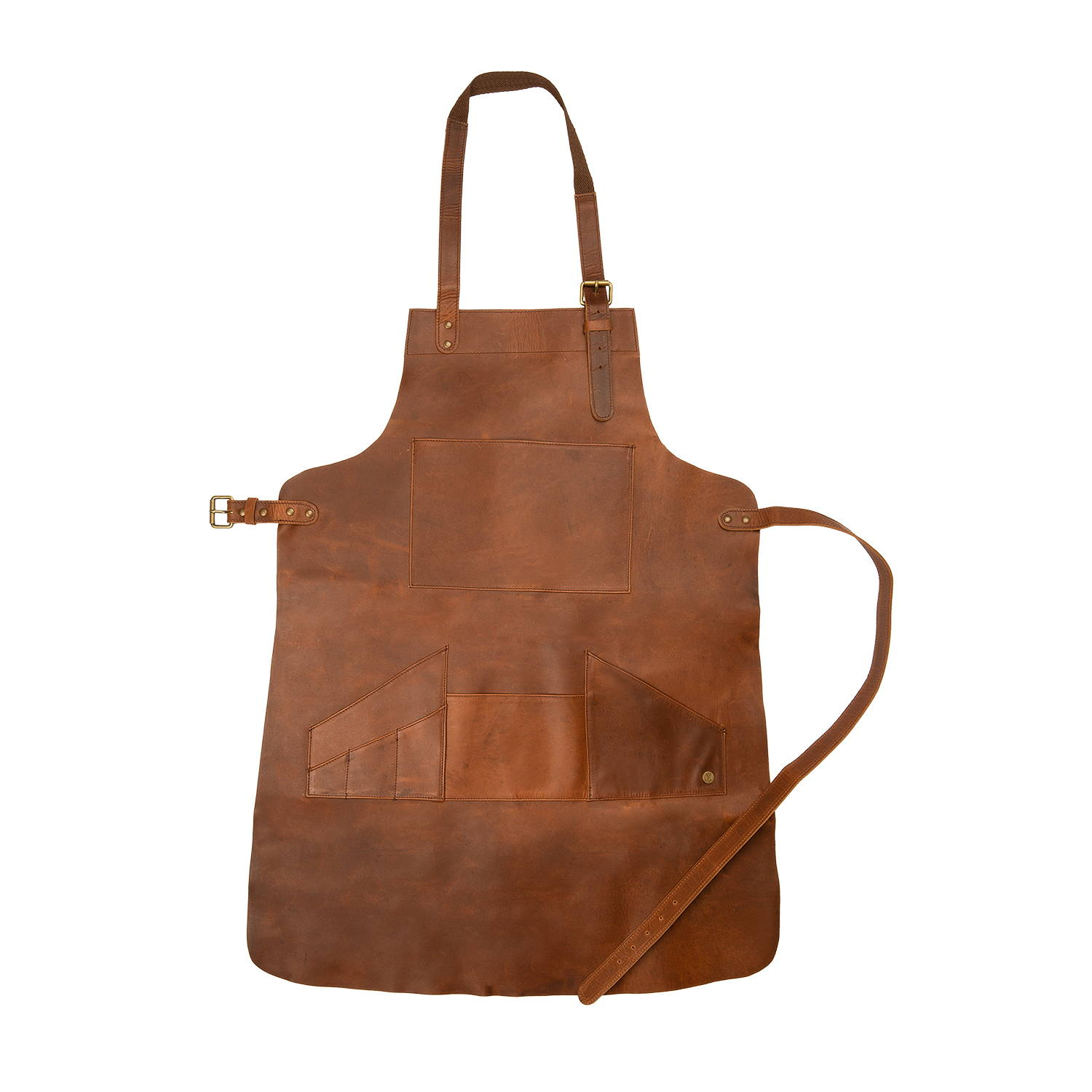 Multiple Pocket Leather Apron - MAHI Leather