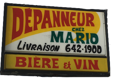 Logo - Depanneur Mario