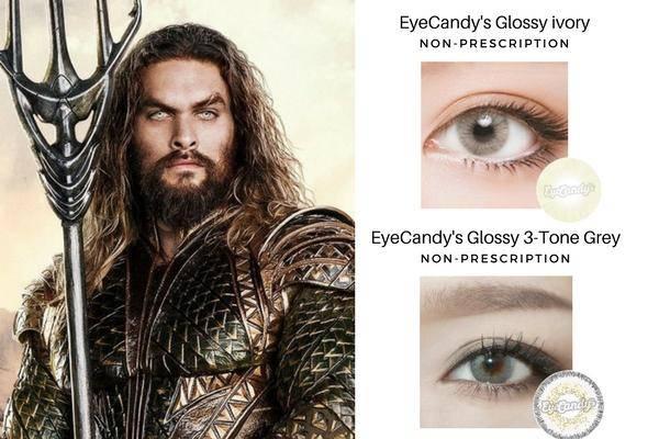 Aquaman's Grey Eyes