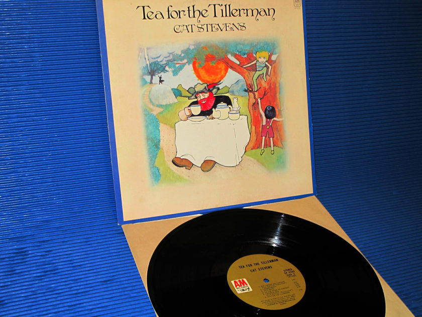 "CAT STEVENS -   - ""Tea For The Tillerman"" - A&M 1970 1st pressing hot stamper"