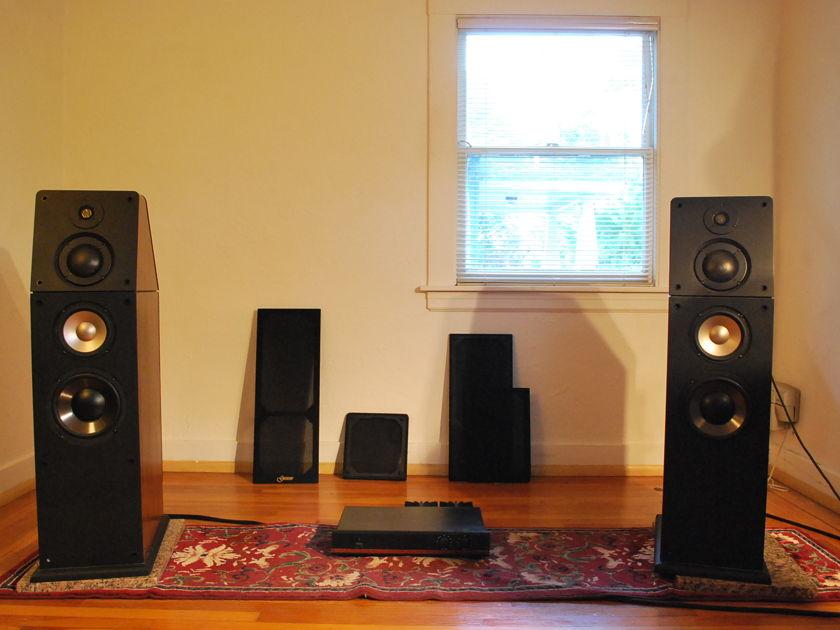 Genesis  Loudspeakers Genesis 6 Full range w/servo amp