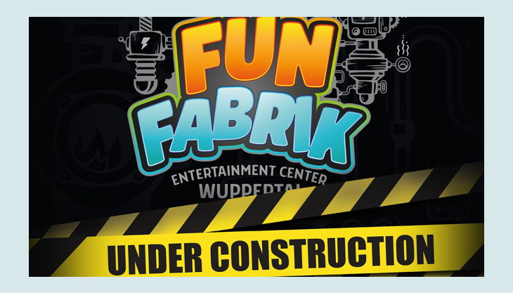 funfabrik logo under construction