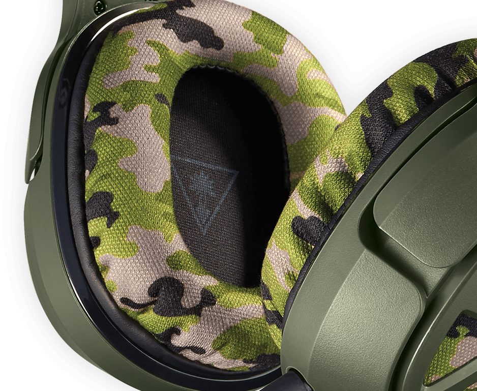 recon camo gaming headset with 50mm speakers