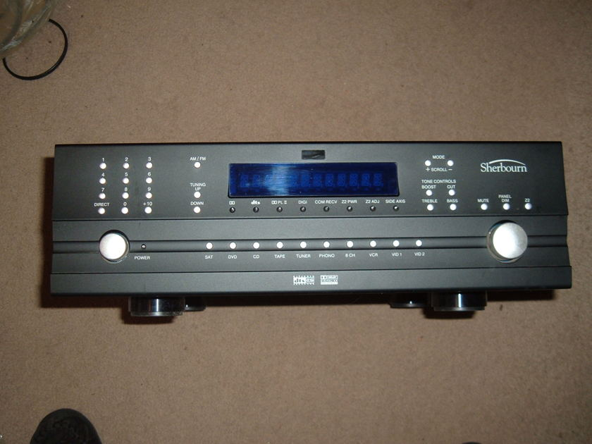 Sherbourn PT-7010A  Preamp/Pro/Tuner W/Balanced inputs