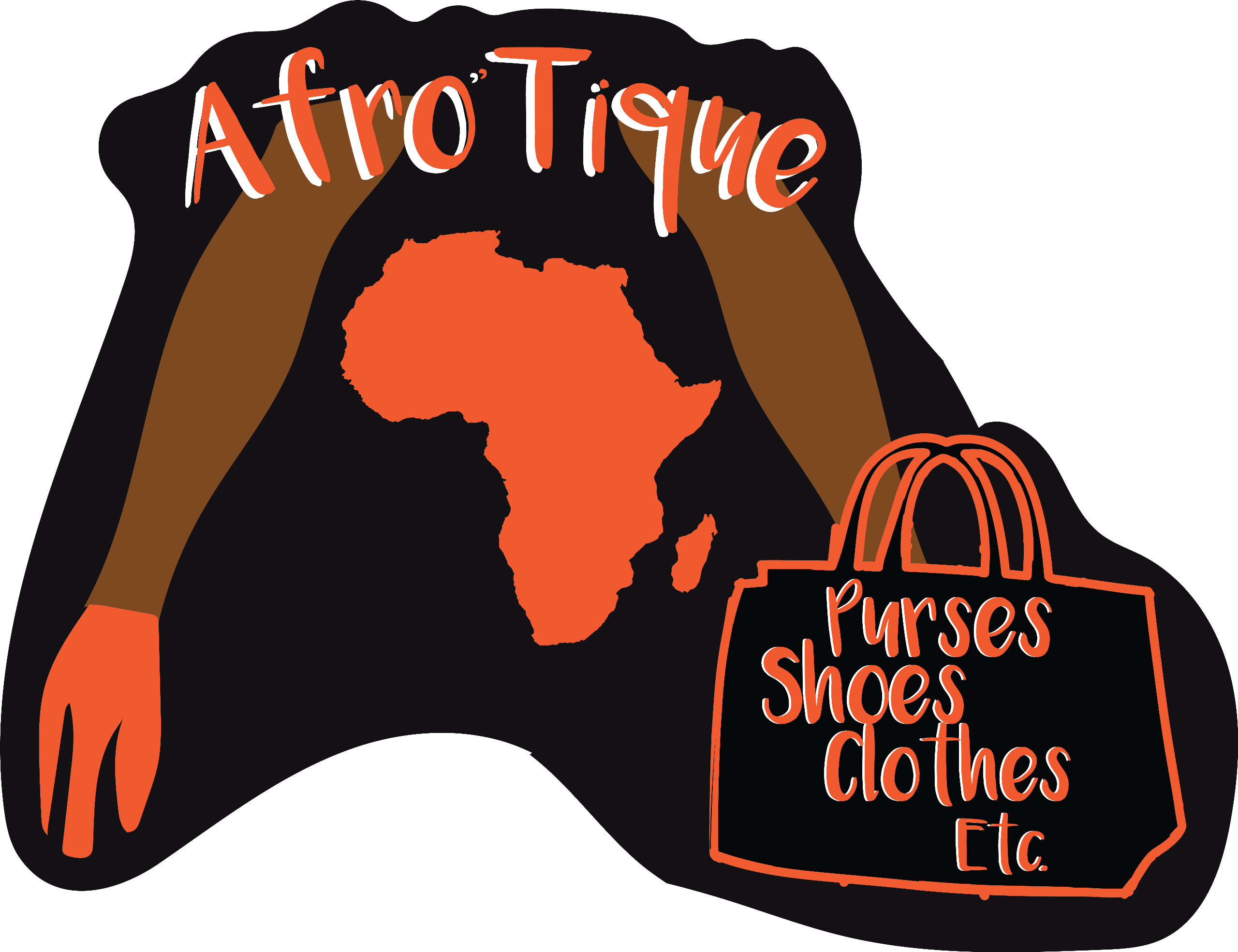 AFRO'TIQUE- PURSES SHOES CLOTHES ETC. Logo