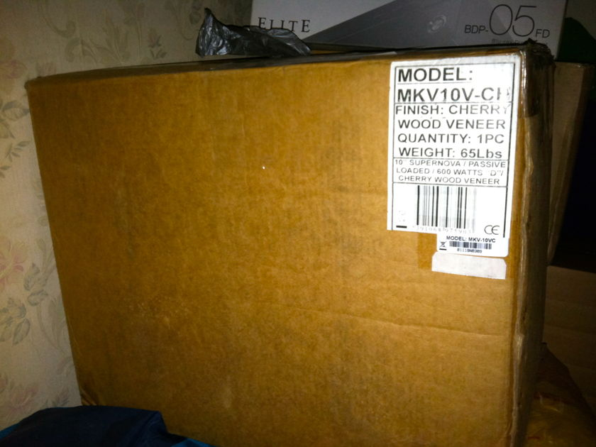 Earthquake Sound SuperNova MKV-10 Cherry / With Warranty