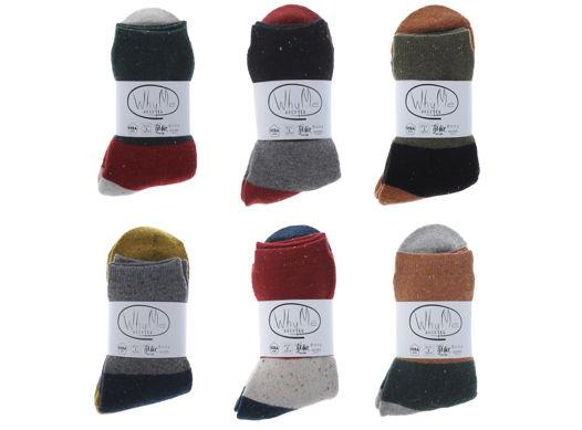Набор шерстяных носков (6 пар)