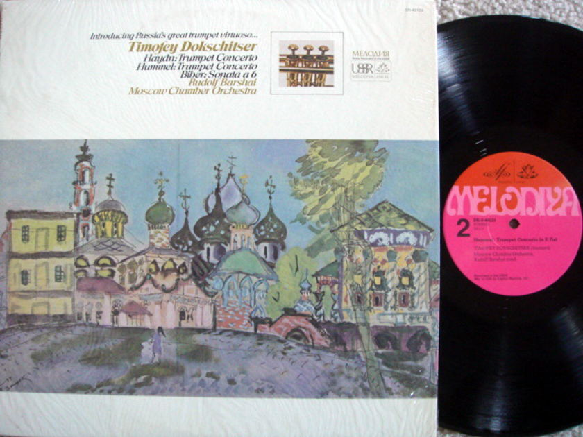 EMI Angel Melodiya / DOKSCHITSER, - Haydn-Hummel Trumpet Concertos, MINT!
