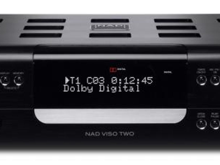 NAD VISO TWO CD/ DVD / Receiver, new with full warranty