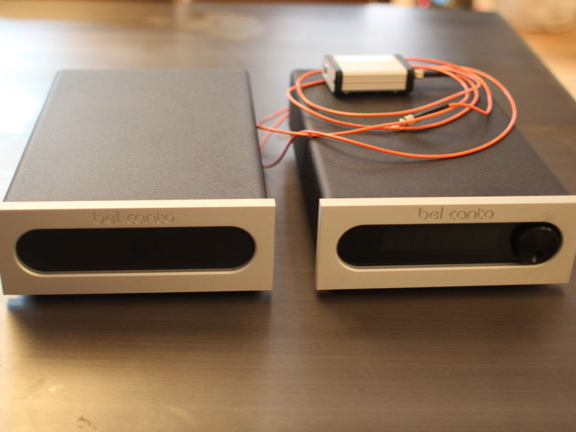Bel Canto DAC 3.5vbs full system - w/ VBS1 Unit, USB Light Link, remotes