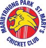 Maribyrnong Park St Mary's Cricket Club Logo