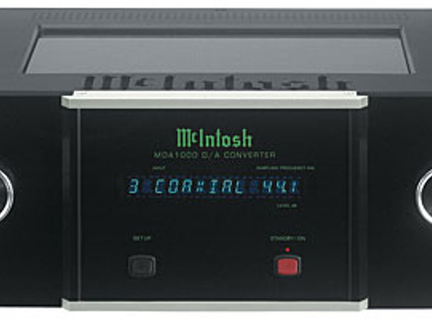 McIntosh MDA-1000 Digital to Analog Converter