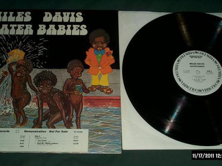 Miles Davis - Water Babies white label promo lp nm