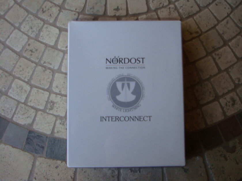 Nordost White Lightning  2M RCA Interconnects