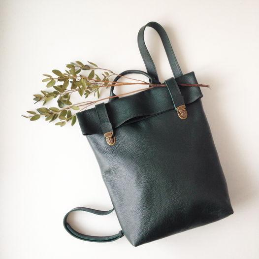 Кожаный рюкзак Deep Forest