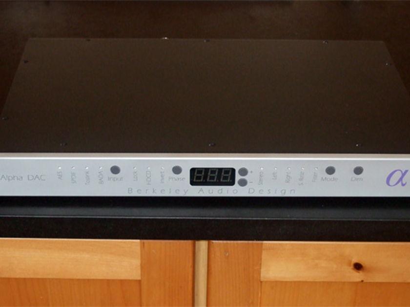 Berkeley Audio Design Alpha DAC  Series 1