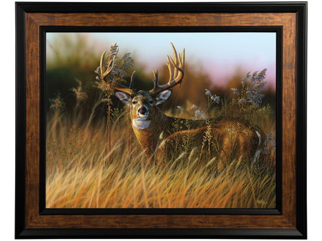 Sunrise Buck Giclee by Eddie Leroy