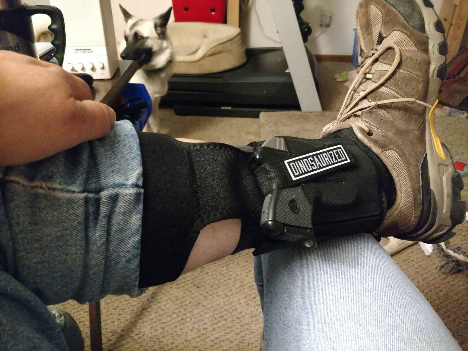 different types of ankle holsters