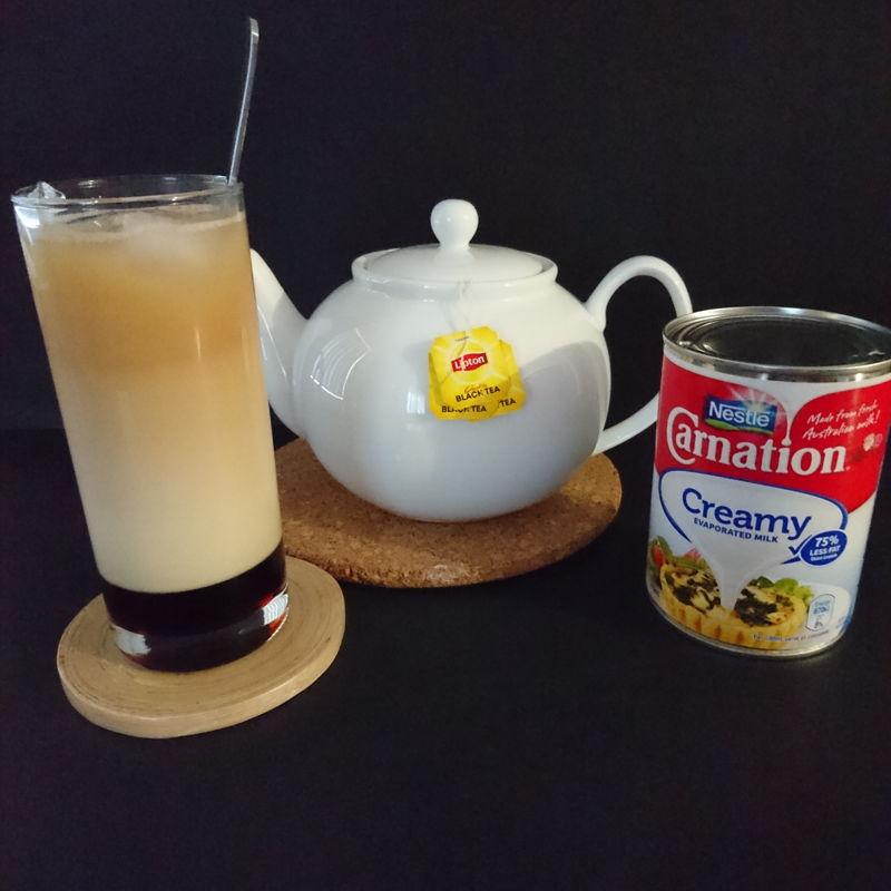 Date: 15 Nov 2019 (Fri) 22nd Drink: Three-Layer Tea (Teh C Peng Special) [103] [113.1%] [Score: 8.0]