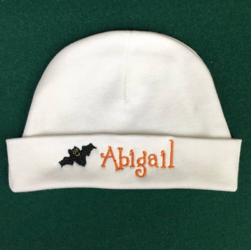 custom baby name halloween hat