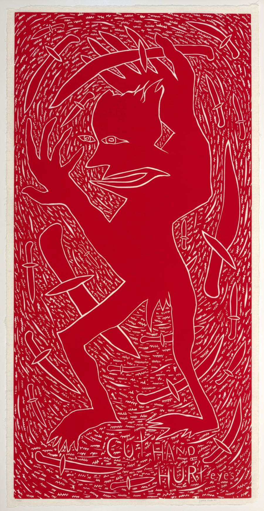 Cut Hand, Hurt Eye Artist: James Surls (American, born 1943)