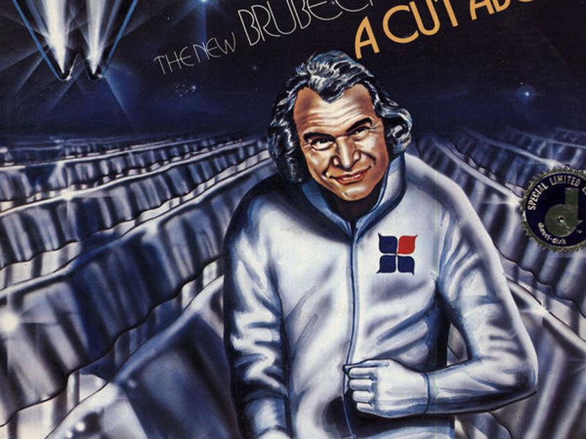 Dave Brubeck Quartet - a cut above  2 LP Direct-To-Disc Audiophile Limited Edition