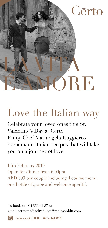 Certo Italian Restaurant image