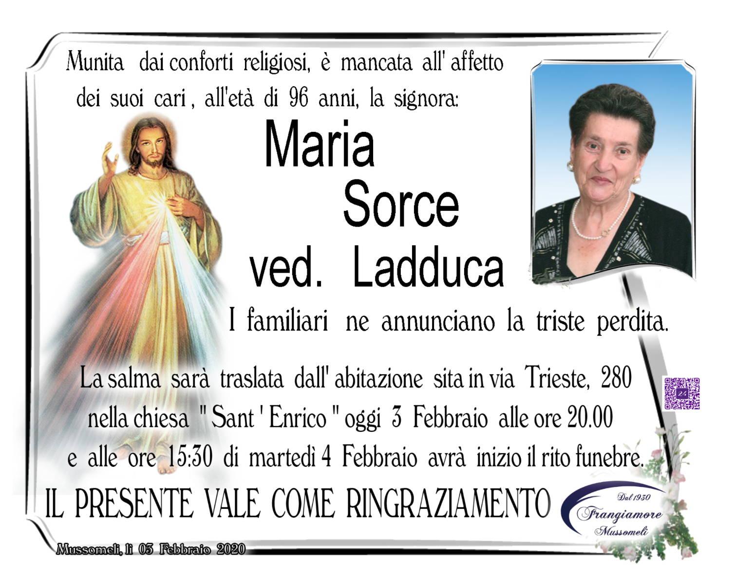 Maria Sorce